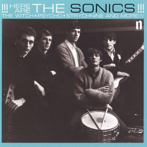 Cover of vinyl record HERE ARE THE SONICS by artist