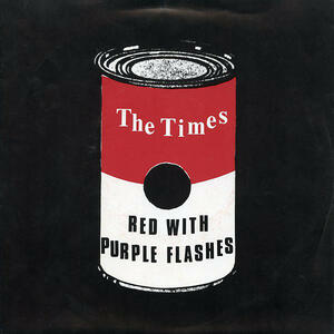 Cover of vinyl record RED WITH PURPLE FLASHES by artist