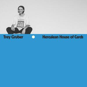 Cover of vinyl record HERCULEAN HOUSE OF CARDS - (OPAQUE BLUE VINYL) by artist