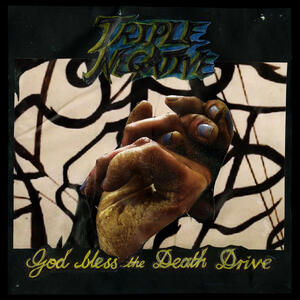 Cover of vinyl record GOD BLESS THE DEATH DRIVE by artist