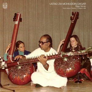 Cover of vinyl record RAGA YAMAN by artist