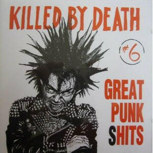 Cover of vinyl record KILLED BY DEATH 6 by artist