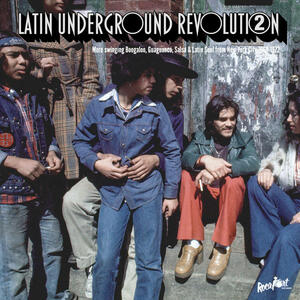 Cover of vinyl record LATIN UNDERGROUND REVOLUTION 2 by artist