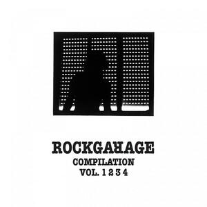 Cover of vinyl record ROCKGARAGE COMPILATION VOL 1-2-3-4 by artist