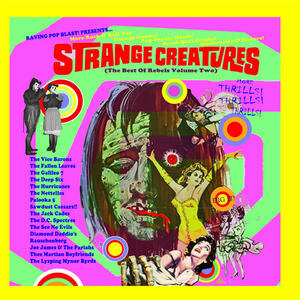 Cover of vinyl record STRANGE CREATURES - (THE BEST OF REBELS VOLUME TWO) by artist