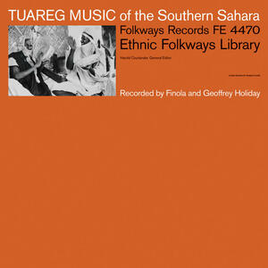 Cover of vinyl record TUAREG MUSIC OF THE SOUTHERN SAHARA by artist