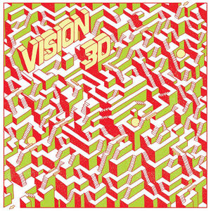 Cover of vinyl record VISION 3D by artist