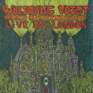 Cover of vinyl record Rückverzauberung live in London by artist