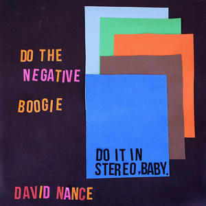 Cover of vinyl record NEGATIVE BOOGIE by artist
