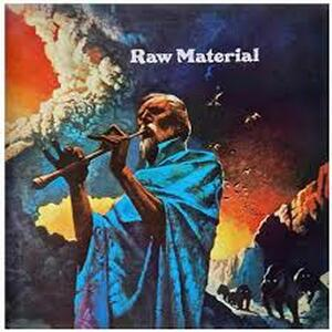 Cover of vinyl record RAW MATERIAL by artist