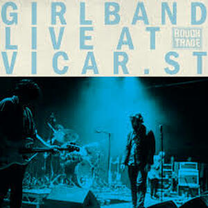 Cover of vinyl record LIVE AT VICAR STREET by artist