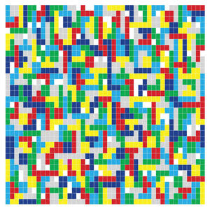 Cover of vinyl record TETRIS by artist