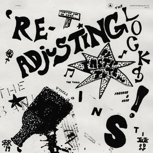 Cover of vinyl record READJUSTING the locks - (coloured vinyl) by artist