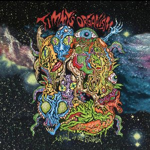 Cover of vinyl record SURVIVAL OF THE FIENDISH by artist