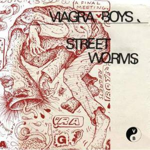 Cover of vinyl record STREET WORMS  by artist